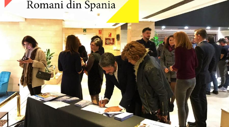 Start Business Romani din Spania se presenta en la celebración del Día de Rumanía organizada por el Consulado de la C.Valenciana